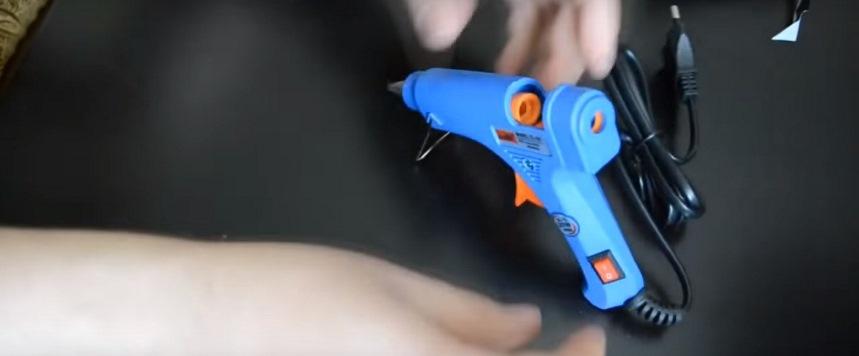 Съемная опора пистолета