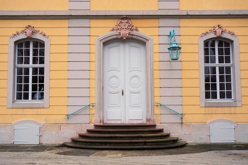 Входные двери с двумя створками