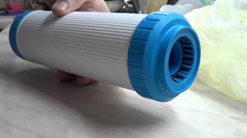 Полость в картридже водяного фильтра
