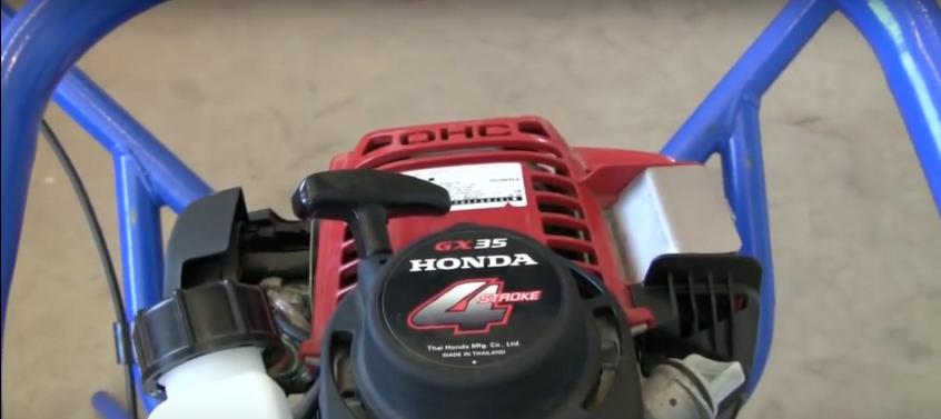 Двигатель Хонда в вибраторе