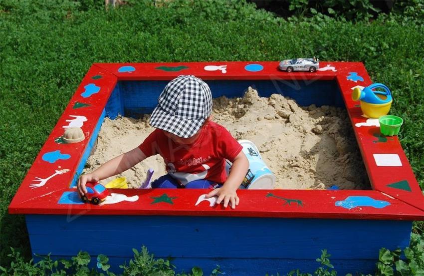 Декорирование песочницы