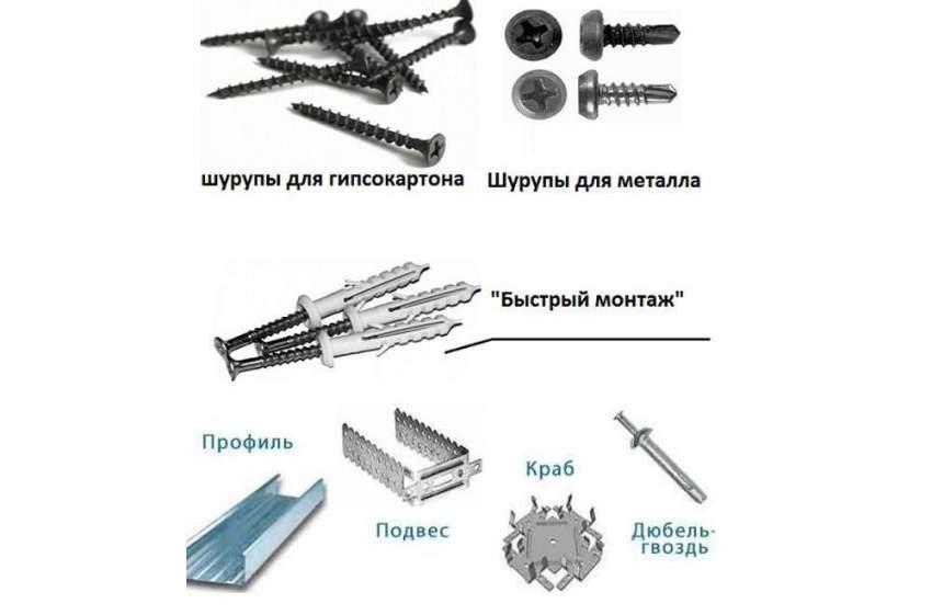 Материалы для выполнения работ