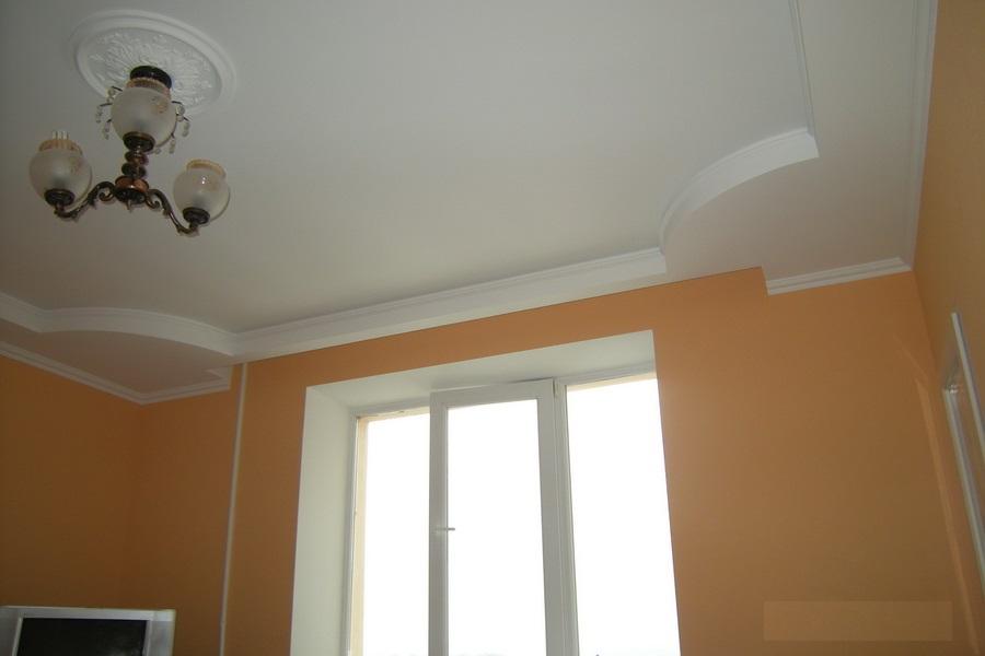 Гипсокартон для отделки потолка