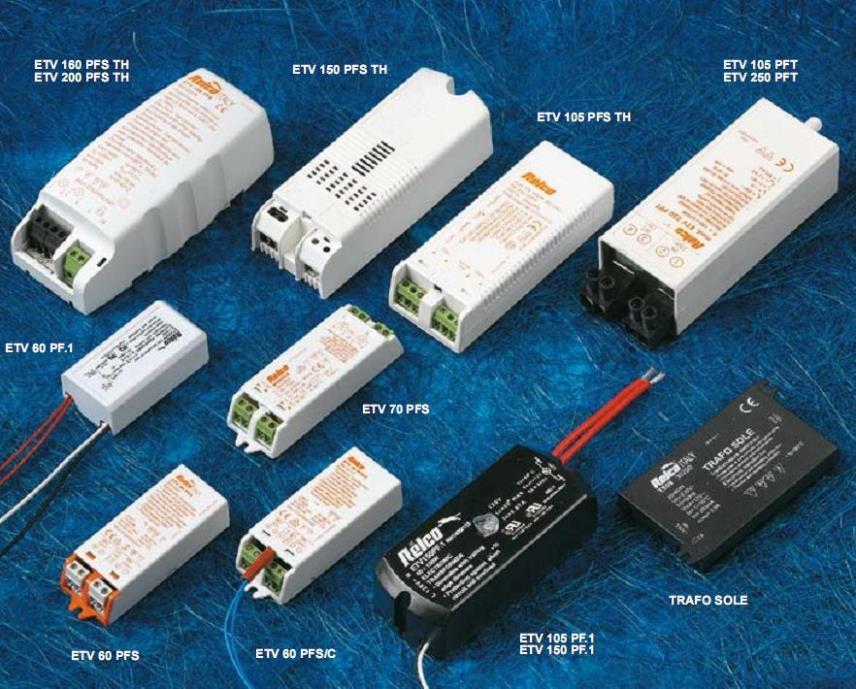 Трансформаторы для точечных светильников