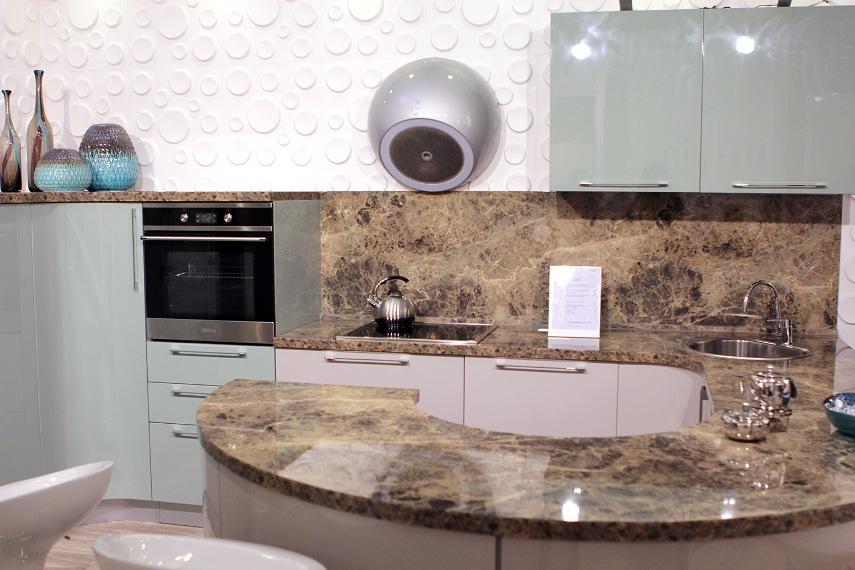 Выбор камня для устройства кухонного фартука