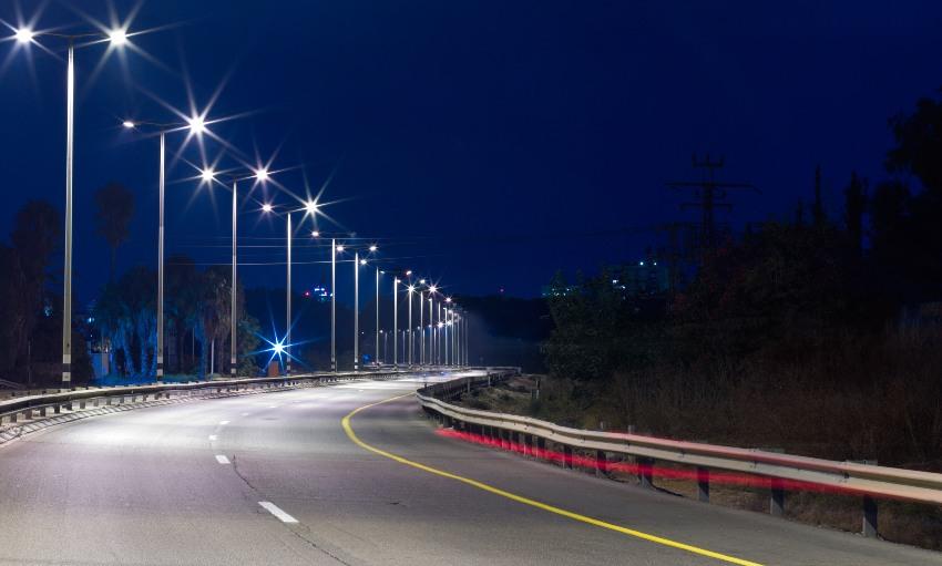 Уличное светодоидное освещение