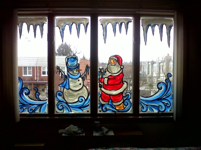 Рисуем на окнах