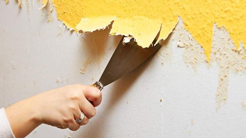 Подготовка стены к покраске
