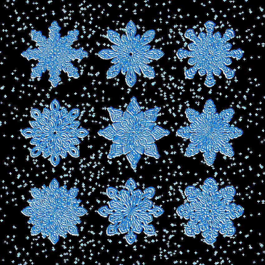 Делаем снежинки из разных материалов