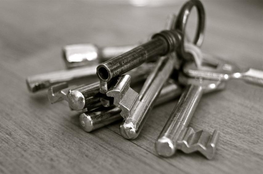 Как разместить большое количество связок ключей в прихожей