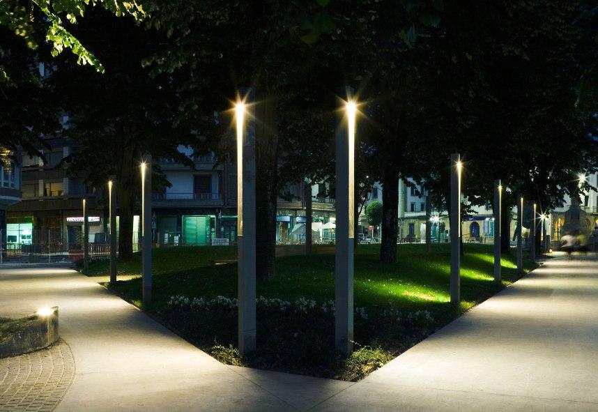 Области использования светодиодных светильников для улицы