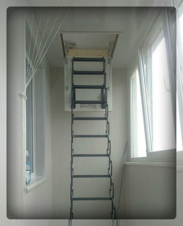 Раскладная пожарная лестница