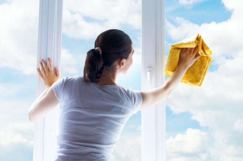 Правила мытья окон