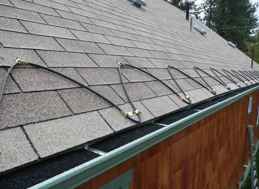 Методика установки обогрева крыши
