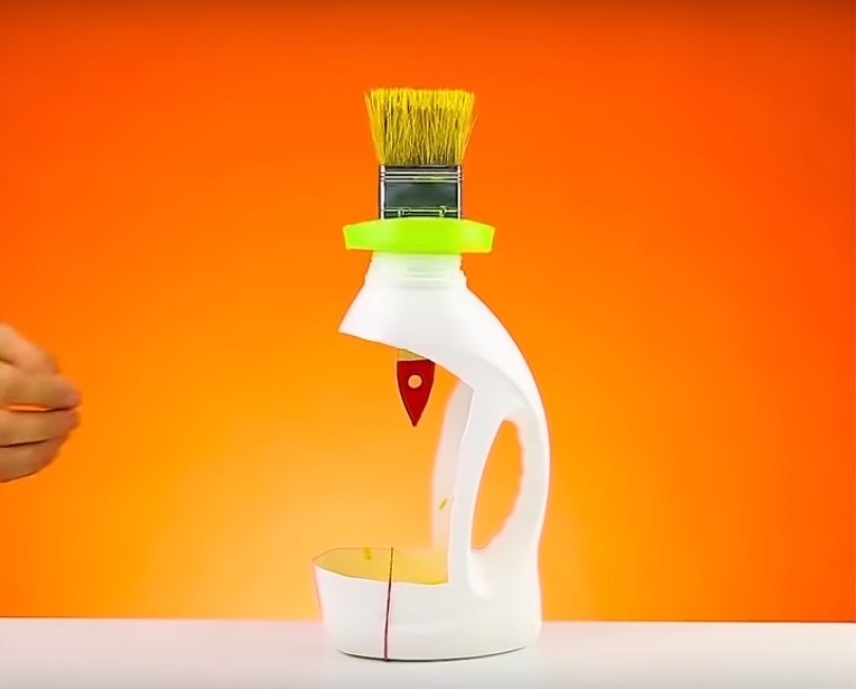 Самоделка из пластиковой бутылки