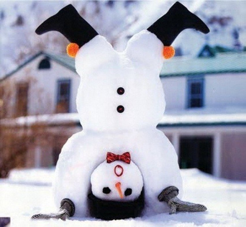 Идеи снеговиков