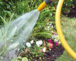 Используем поврежденный садовый шланг