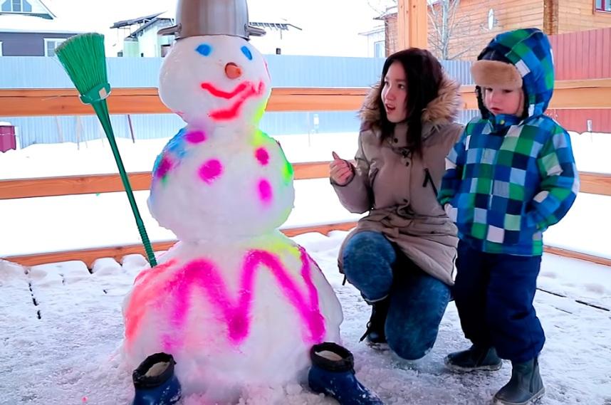 Как можно разнообразить снеговиков