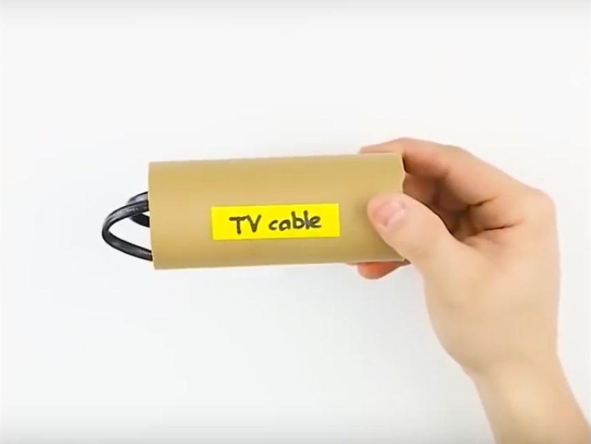 Хранение шнуров