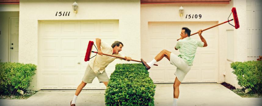 """Агрессия соседей """" наоборот"""""""