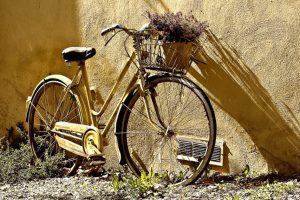 Велосипед и весна