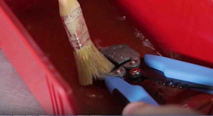 Промывание стриппера