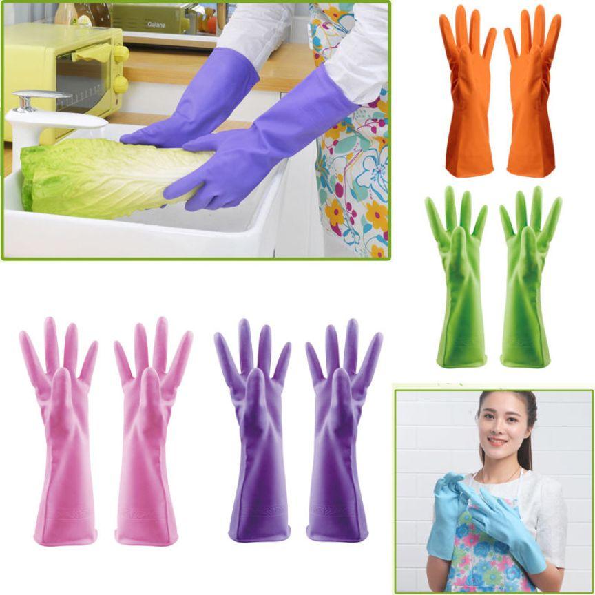 Виды хозяйственных перчаток