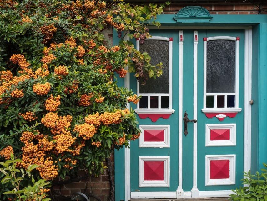 Деревянная входная дверь: как предотвратить деформацию