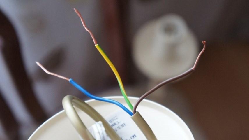 Провода люстры