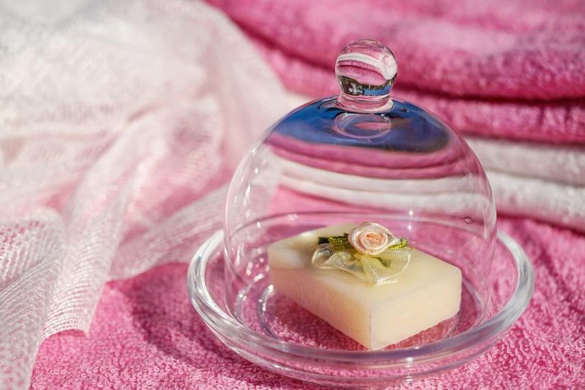 Красивое мыло ручной работы