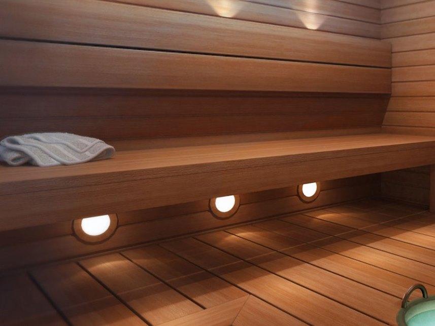 Светильники в бане