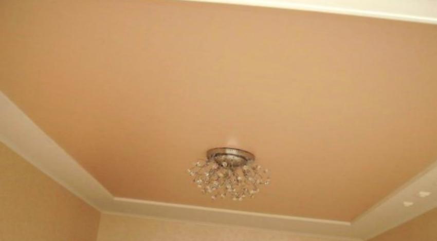ухаживать за натяжными потолками