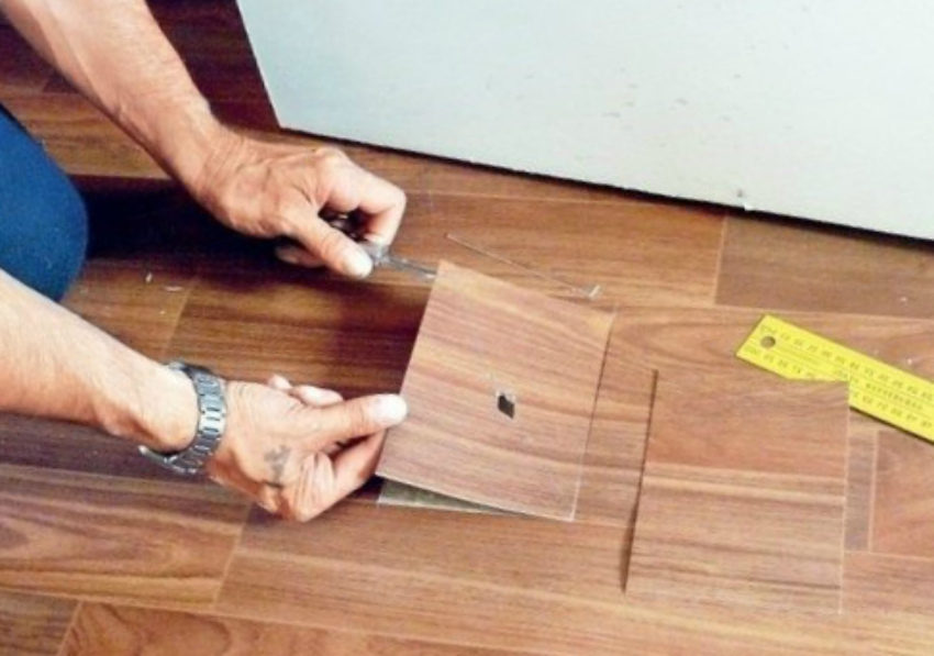 ремонт линолеума