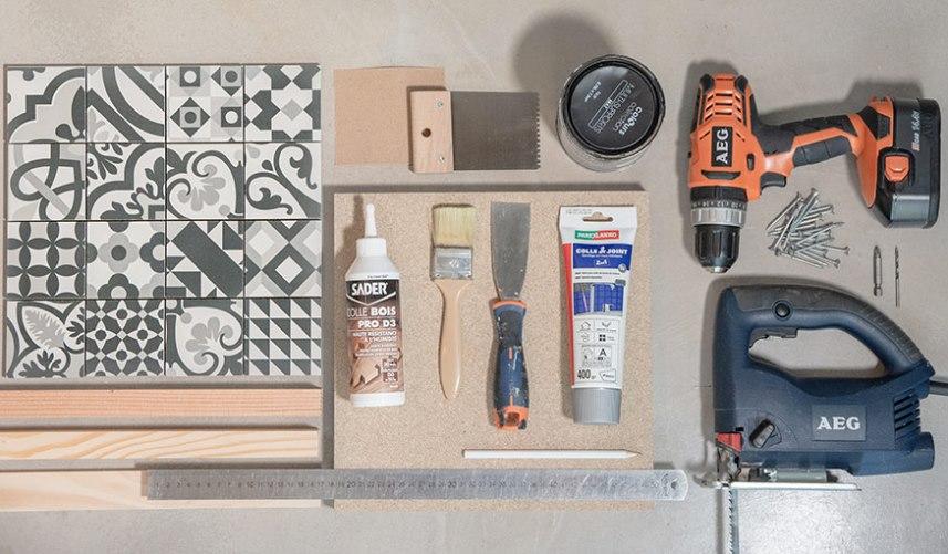 Материалы и инструменты