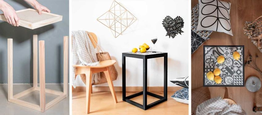 Самодельный столик