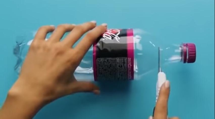 Отрезание бутылки