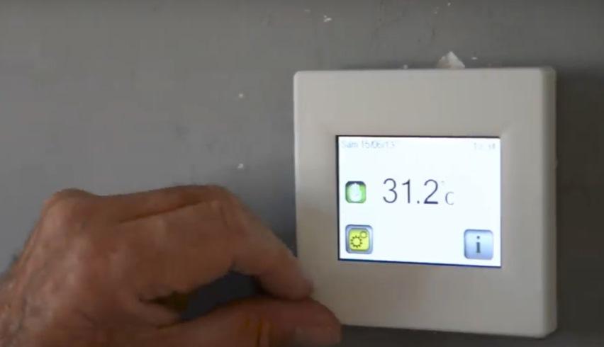 Экран индикатора