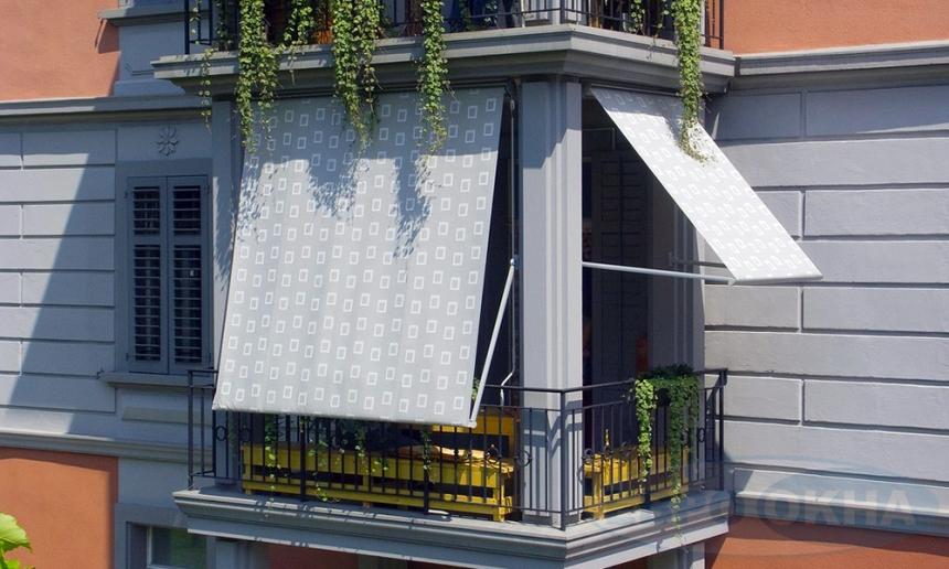 Маркизы на балконе