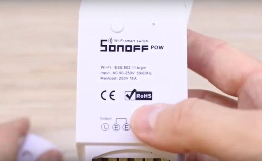 Умный дом: Модуль Sonoff Pow