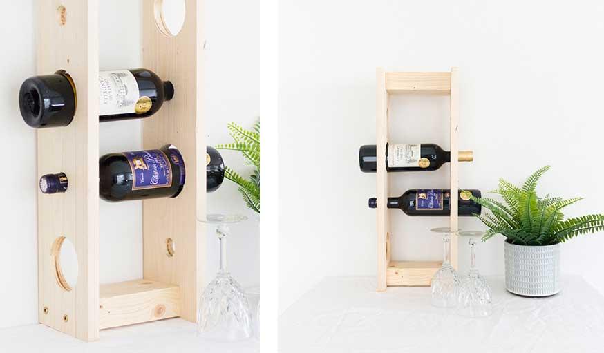 этажерка для винных бутылок