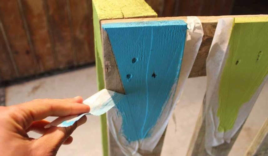 Удаление малярной ленты