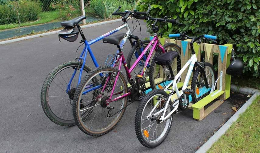 Стойка для парковки велосипедов