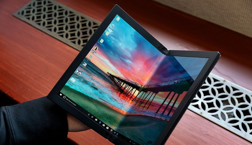 Компания Lenovo представила свой сгибающийся ноутбук ThinkPad X1