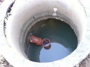 вода в колодце