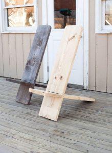 Удобный стул для дачи