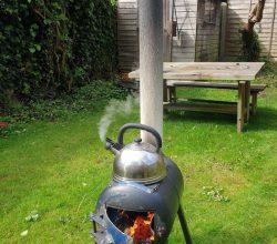 Печь: изоляция дымоотвода