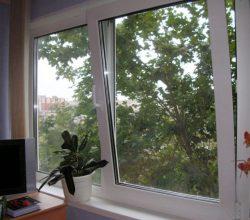 Окна ПВХ: вентиляция