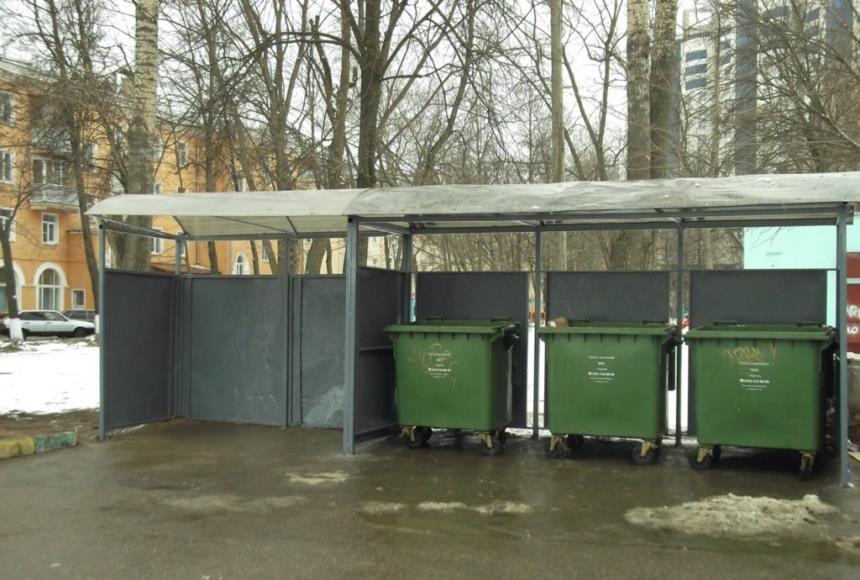 Вывоз мусора: контейнеры