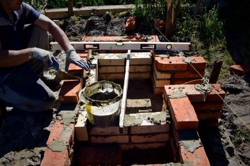 Самодельная ванна: печь и дымоход