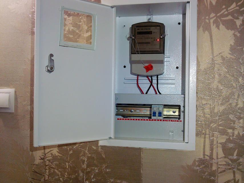 Электросчетчик в квартире
